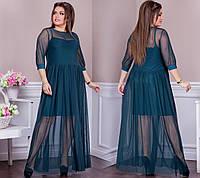Женское нарядное платье 50-58, фото 1