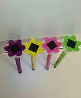 Садовый газонный светильник на солнечных батареях цветной корпус