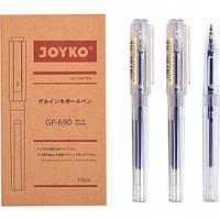 От 10 шт. Ручка гелевая GP-690 JOYKO 10 штук, синяя купить оптом в интернет магазине От 10 шт.