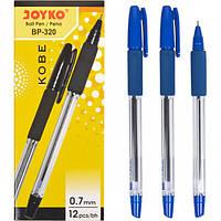 От 12 шт. Ручка шариковая BP-320 JOYKO 12 штук, синяя купить оптом в интернет магазине От 12 шт.