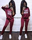 Женский модный костюм: свитшот и штаны (2 цвета), фото 4
