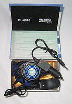 Налобный фонарь BAILONG BL-6816 ( фонарик на лоб ), фото 3
