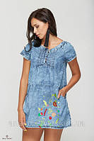 Деним снова на волне: женские джинсовые летние платья