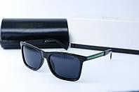 Солнцезащитные очки Hugo Boss черные глянцевые