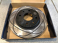 Диск тормозной ВАЗ 2110-2112  Приора 2170, Калина 1118 вентилируемый R-13 Trialli c выточкой, фото 1