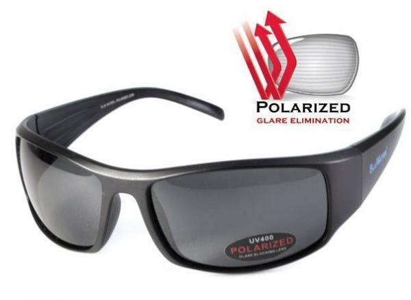 Очки Florida-1 от компании BluWater POLARIZED (США) дымчатая линза