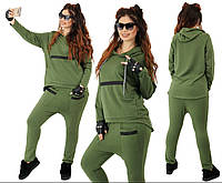 """Женский спортивный костюм  больших размеров """" Кофта и штаны """" Dress Code, фото 1"""