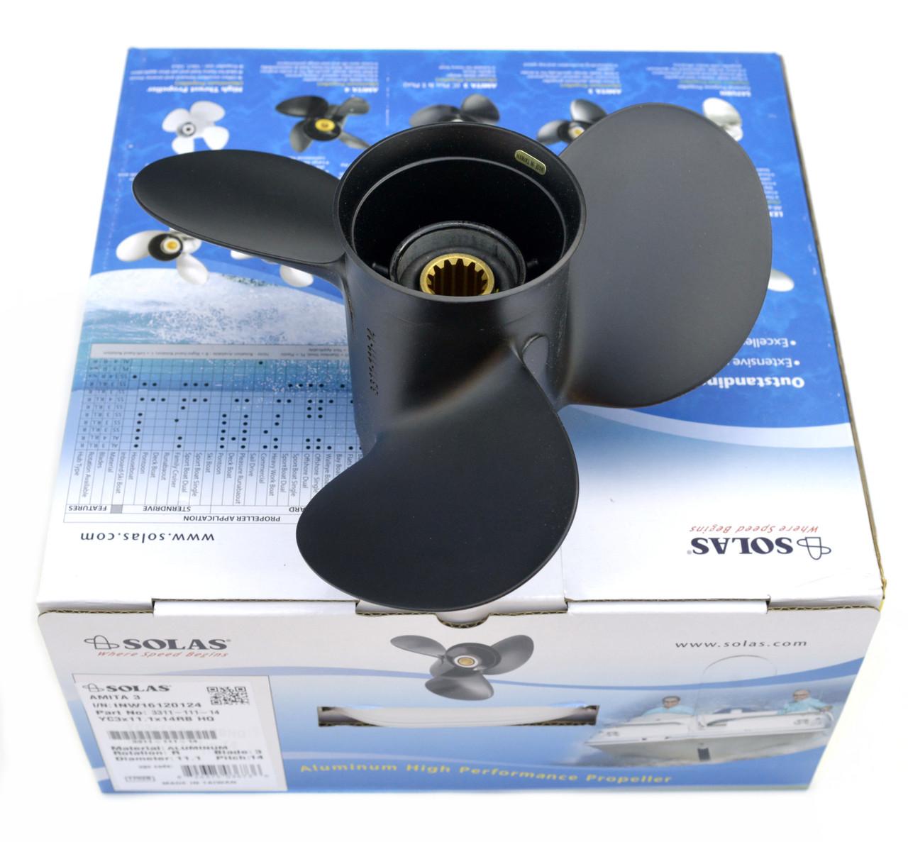 Гребний гвинт човновий Tohatsu (11.1x13) 3T5B64527-0 SOLAS