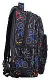 Рюкзак молодежный T-55 Bike, 43*32*14, фото 2