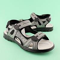 Подростковые сандалии на мальчика Серые тм TOMM размер 36,37,38,39