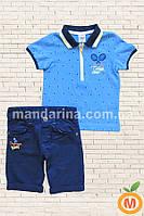 Футболка и шорты для мальчика 3 и 4 года (98 и 104)