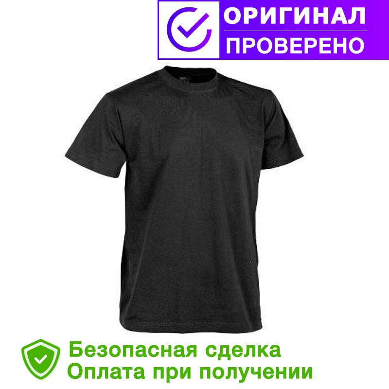 Тактическая футболка Patrol Classic Army T-shirt Helikon Black (TS-TSH-CO-01) размеры M-XXL
