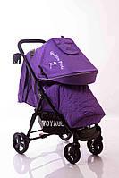 Детская прогулочная коляска Quattro Porte QP-234 Purple