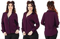 """Блузка больших размеров """" Классика """" Dress Code, фото 1"""