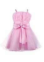Розовое нарядное платье для  девочек 4-6 лет, фото 1