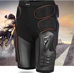 Вело/мото/лыжи/скейт шорты защитные