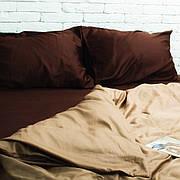 Полуторный комплект постельного белья сатин. Акция: Бесплатная доставка!