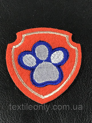 Нашивка Щенячий патруль логотип, фото 2
