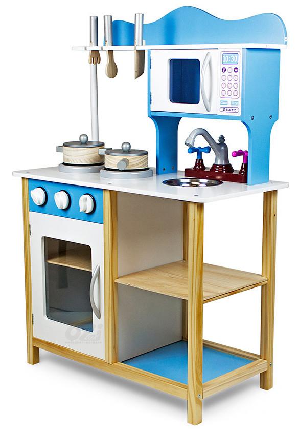 Детская деревянная кухня с аксессуарами Casper 85 см