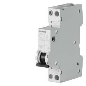 Автоматический выключатель Siemens (6кA, 1+N/1, C 25A), 5SY6025-7
