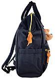 Рюкзак молодежный OX 386, 42*30*16.5, темно-синий, фото 2