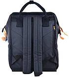 Рюкзак молодежный OX 386, 42*30*16.5, темно-синий, фото 4