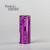 Аккумулятор 26650/ IMR / 5000 mAh / без защиты / 45 А / плоский + / Efest Purple