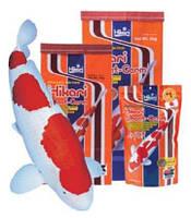 Hikari Wheat-Germ корм Кои легкоусвояемый Основное питание, Большая гранула, Для прудовых рыб, плавающий, 10 кг, Гранулы