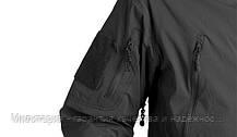 Куртка (летний вариант) Helikon-Tex Trooper Softshell Black (KU-TRP-NL-01), фото 3