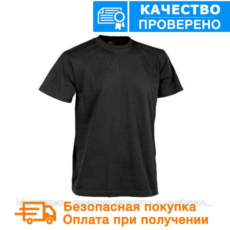 Тактическая футболка Patrol Classic Army T-shirt Helikon Black (TS-TSH-CO-01)