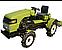 Мототрактор  DW154CX (15 л.с., 4х4, гидроусилитель руля,  колеса 5,00-12/6,5-16, рем. привод, гидравлика), фото 4