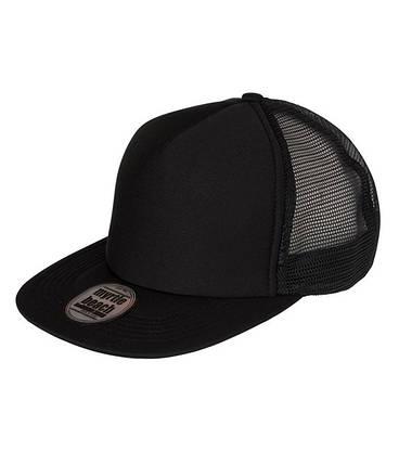 Плоская сетчатая кепка U, MBEB Черный / черный, фото 2