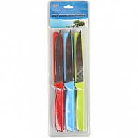 Набор цветных ножей на блистере, 6 шт 22см