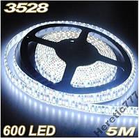 Светодиодная лента SMD 3528 ВЛАГОЗАЩИТА 120свет/м , фото 1