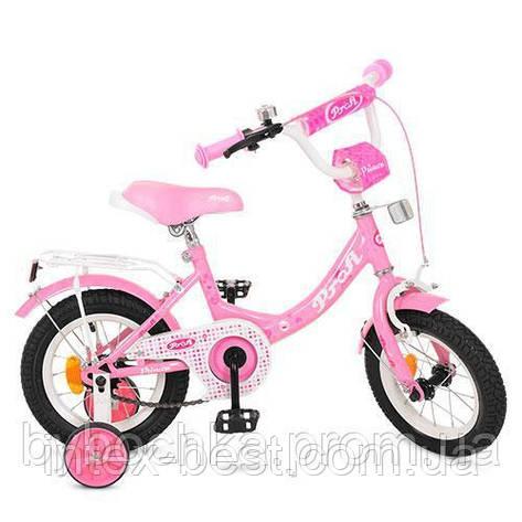 Велосипед детский PROF1 12д. Y1211 Princess,розовый, фото 2