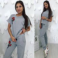 "Летний женский спортивный костюм ""Роза"""