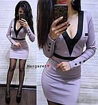 Женское стильное силуэтное платье (5 цветов), фото 4