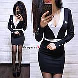 Женское стильное силуэтное платье (5 цветов), фото 5