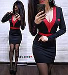 Женское стильное силуэтное платье (5 цветов), фото 7