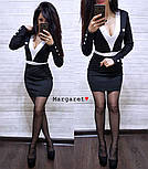 Женское стильное силуэтное платье (5 цветов), фото 8