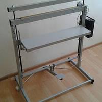 Напольный запайщик пакетов импульсного нагрева.НИ-600 Длина шва 600 мм. ширина шва от 2 до 5 мм.