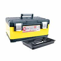 """Ящик для инструментов с металлическими замками 21"""" 534 * 366 * 266 мм INTERTOOL BX-2021 (BX-2021)"""