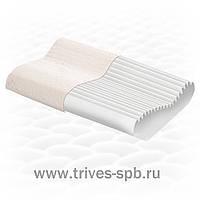 Подушка ортопедическая с эффектом памяти ребристая
