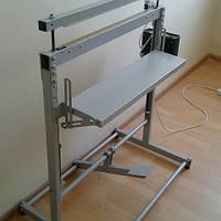 Напольный запайщик импульсного нагрева НИ-700 Длина шва 700 мм. ширина от 2 до 5 мм.