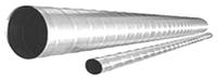 Воздуховоды спирально-навивные на ниппельном соединении