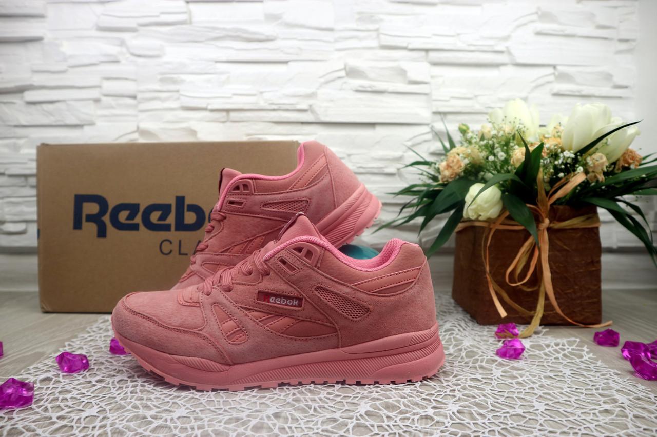 Женские кроссовки Reebok Classik цвет розовый G7373-1SA-W2 р. 40