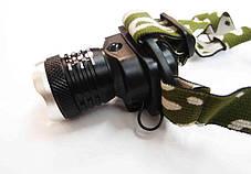 Налобный LED фонарь Bailong BL-6809 ( фонарик на лоб ), фото 2