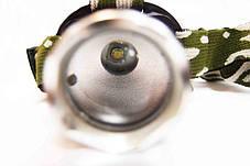 Налобный LED фонарь Bailong BL-6809 ( фонарик на лоб ), фото 3