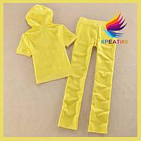 Спортивные велюровые костюмы с коротким рукавом оптом (под заказ от 50 шт.)