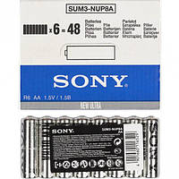 Батарейка Sony R-6 Sum3 AA по 4 штуки